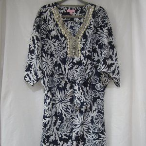 Lilly Pultizer XS Wilda Caftan Dress In the Groove